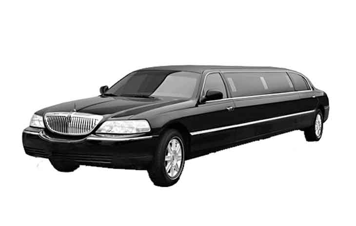 Black Stretched Limo